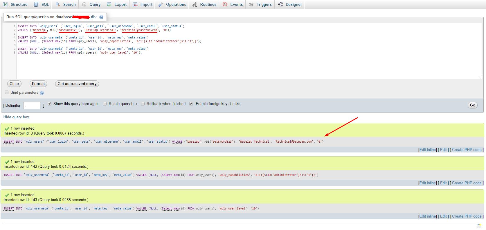 add user sql query