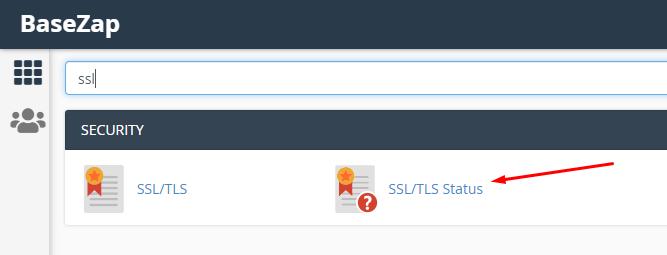 issue ssl on cpanel in ssl/tls