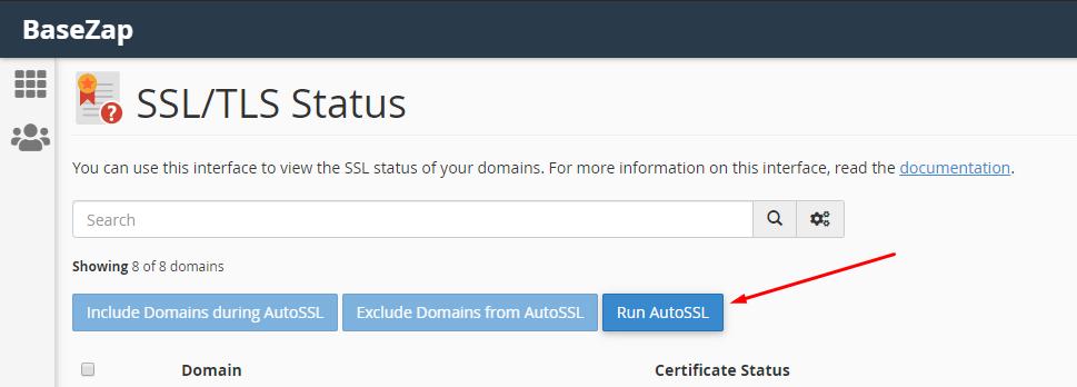 issue ssl on cpanel using autossl