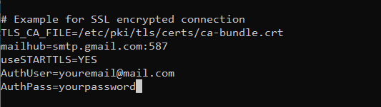 How to send email from Linux using SMTP